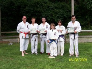 Don Dixon's Black Belt and Kyu Rank Promotions